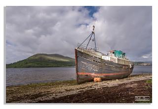 Corpach shipwreck, Loch Linnhe
