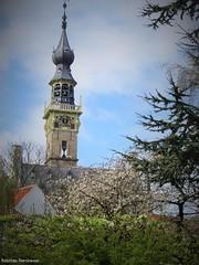 Splendid view (katrienberckmoes) Tags: splendid view old harbour city church landscape veere charming springtime zeeland holland places visit