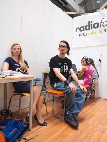 Radiofabrik @ Kinderstadt 2017