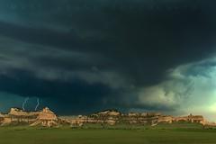 Storm over the Wildcats (Matt Grans Photography) Tags: nebraska storm shelfcloud lightning lightening bluffs hills mountains wildcats weather severe chase chasing teal hail supercell landscape