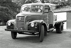 RETRO-Glossop. 2017 (day 192) Tags: glossop manorpark glossopcarshow carshow transportrally transportshow lorry lorries wagon truck classiclorry preservedlorry vintagelorry ford fordson thames et6 fordsonthameset6 njwatson pxp775 retro retrolook bw blackwhite