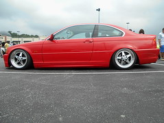 2000 BMW 323Ci (splattergraphics) Tags: 2000 bmw 323ci slammed carshow huntvalleyhorsepower huntvalleytownecentre huntvalleymd
