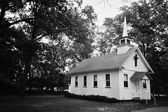 DR2-022-9A (David Swift Photography Thanks for 22 million view) Tags: davidswiftphotography newjersey atlanticcounty southjersey churches holyplaces housesofworship historicchurches 35mm yashicat4 ilfordxp2 film architecture