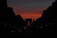 Arc de Triomphe (marysky2) Tags: tramonto sunset fotografia foto photografie photografy photo architetture architettura france francia parigi paris arcoditrionfo arcdetriomphe