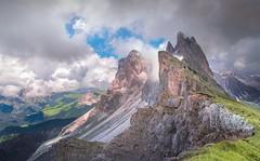 Clouds cocktail (ELtano86) Tags: eltano86 seceda dolomite dolomiti dolomites mountains dolomiten montes trentino alto adige