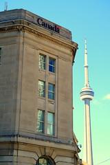 Dominion Public Building (wyliepoon) Tags: downtown toronto dominion public building cn tower front street yonge