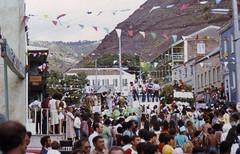 077z Saint Helena's Day parade, 1834 - 1984, Jamestown, St Helena Island.