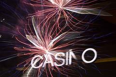 Fourth of July 2017, fireworks in Las Vegas (FreezeTimeDigital) Tags: fourthofjuly fireworks explosion doubleexposure night sky colorful lighttrails lasvegas vegas sincity nevada patriotic usa nikond750 nikond7200