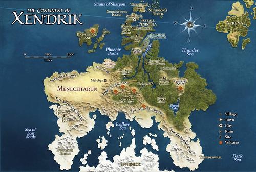 Map of Xen'drik