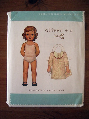 Oliver+S playdate dress pattern