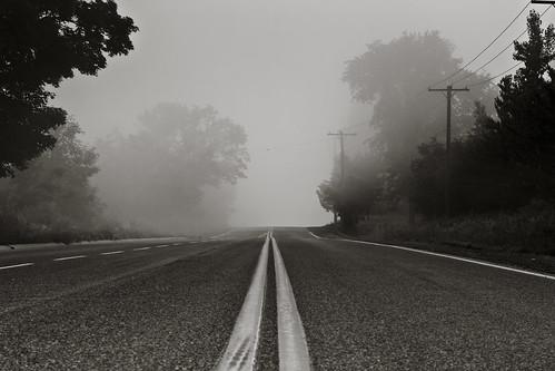 line to fog