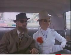 Capu 8 (Collar Connoisseur) Tags: woman tie 70s 1970s necktie villainess whitesuit