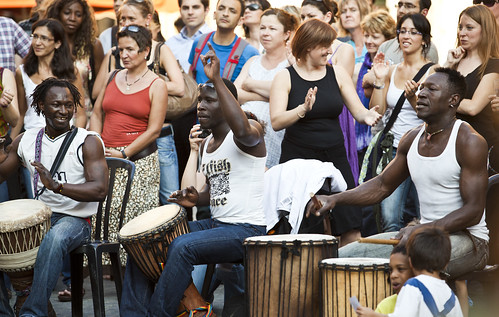 Music in the streets of Grenoble
