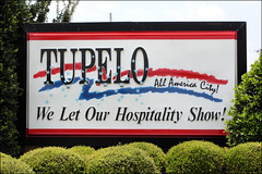 Welcome to Tupelo (bluebird218) Tags: sign mississippi welcome tupelo