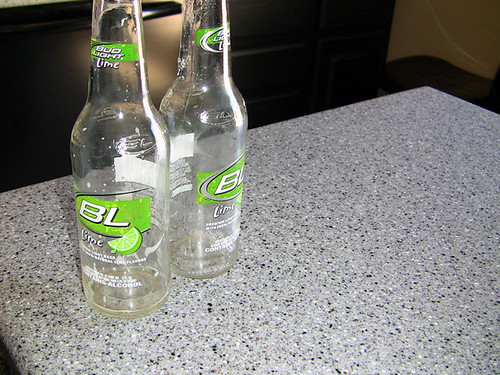 yup, its really Budlight Lime