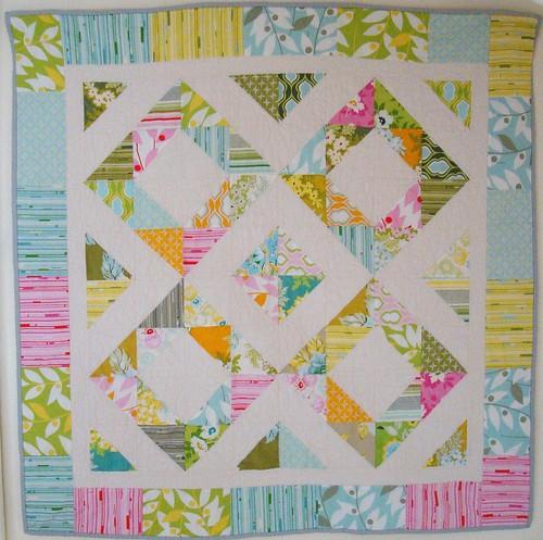 Nicey Jane HST quilt 1