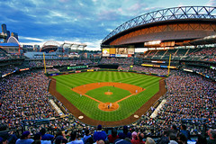 Seattle - Seattle Mariners - Safeco Field (new edit) (Silver1SWA (Ryan Pastorino)) Tags: seattle chicago sports sport canon washington baseball stadium sigma diamond mariners safeco cubs safecofield crowds ballpark sigma1020 40d canoneos40d