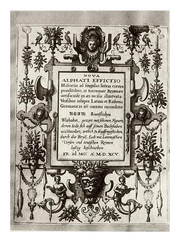 001-portada-Neiw Kunstliches Alphabet 1595- Johann Theodor de Bry