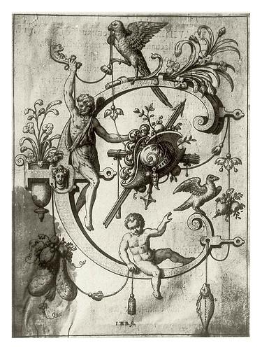 004-Letra C- Caín-Neiw Kunstliches Alphabet 1595- Johann Theodor de Bry