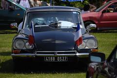 DS 21 (pontfire) Tags: auto cars car classiccar automobile 21 citroen ds autos oldcar citroends frenchcar luxurycar ds21 blackcar voituresanciennes