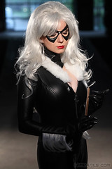 Getting Ready (A_Riddle) Tags: man black cat blackcat felicia spider costume cosplay spiderman hardy feliciahardy