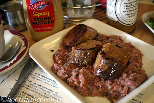 Kishka! On more smoked meat hash.