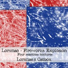 Lorimae Texture -  Fireworks Explosion