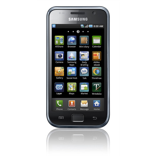Samsung Galaxy S (front view) - 2