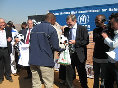 UNHCR News Story: Play4Africa arrives in Pretoria bearing gifts and support for refugees (UNHCR) Tags: news for support refugees story gifts pretoria arrives unhcr bearing play4africa