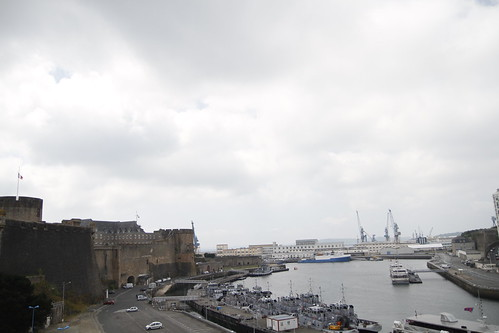 Panoramic view of Brest