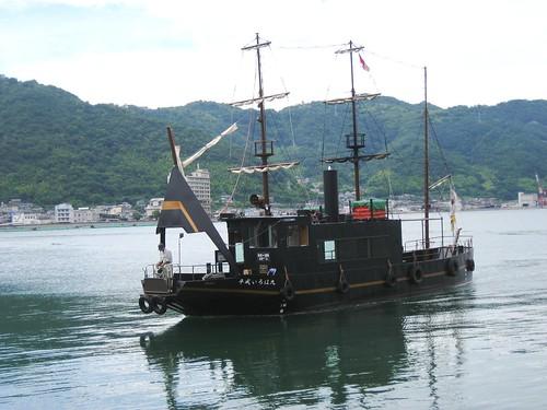 福山 鞆の浦 平成いろは丸、龍馬の乗った船で、仙酔島へ21