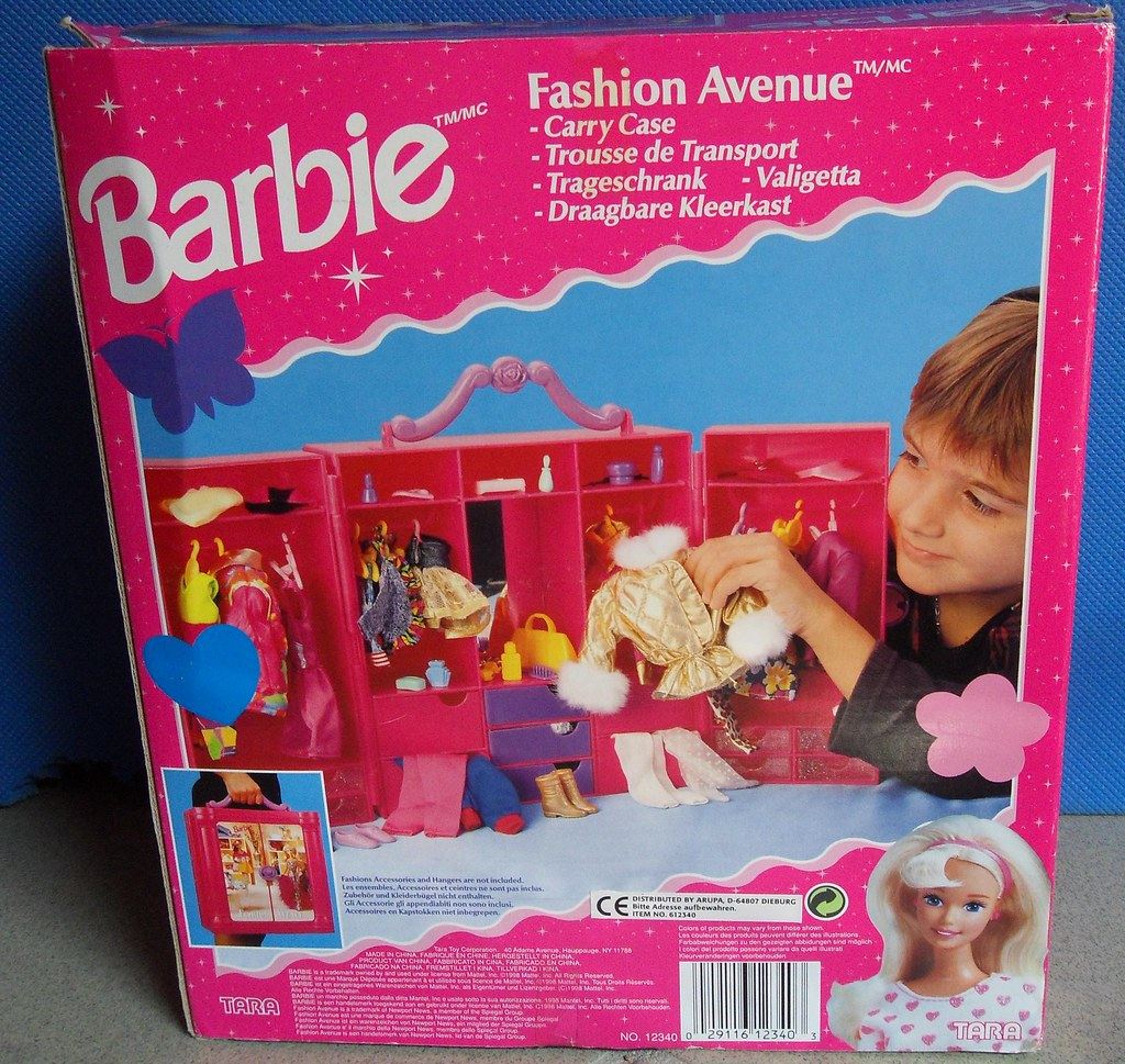 Barbie Fashion Avenue Trageschrank / Carry Case (1998)