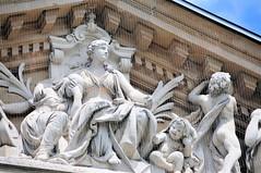 Wiesbaden Staatstheater Sculpture (mbell1975) Tags: sculpture house statue germany deutschland opera theater wiesbaden state eu statues relief sculptures oper neoclassical deutsch hesse staatstheater hessisches