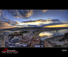 Atardecer en Peiscola (_Hadock_) Tags: peiscola atardecer hdr high dinamic range panorama panoramic ptgui pt gui panoramica photomerge photo merge photoshop vistas horizontes horizon horizont walpaper wallpaper screen saver screensaver fondo de pantalla windows xp vista siete seven 7 ubuntu linux qbuntu unix mac osx os x 10 iphone ipad castellon alicante espaa mediterraneo mediterranean sea mar