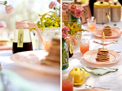 pancake bridal shower 15