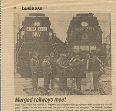 Chicago Sun Times newspaper article from the business section. Wednsday, June 2nd, 1982.