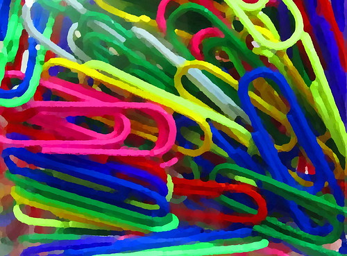 2010-07-01 05-11-52 - IMG_0317 Paper clips painting