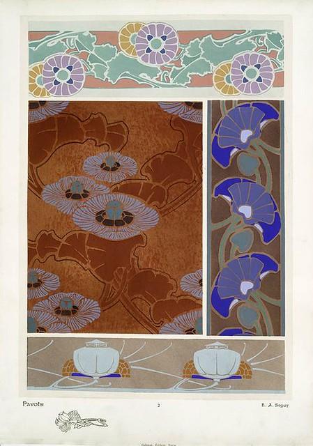 001-Les fleurs et leurs applications decoratives 1902- Eugene Alain Seguy
