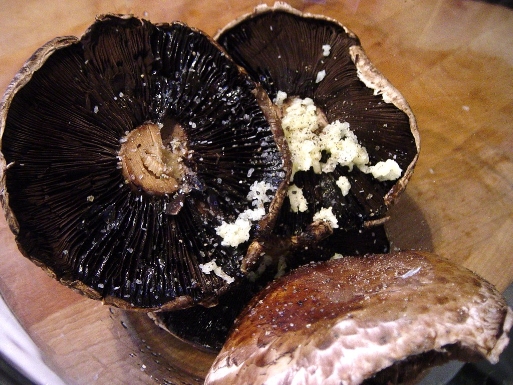 """Barbecued"" Portobello Mushrooms"