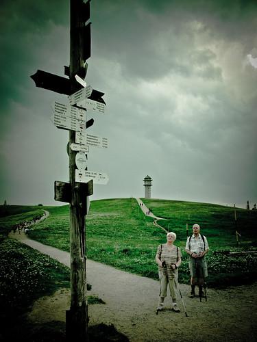 Schilderwald am Feldberg