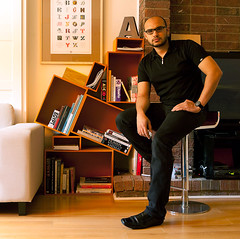 My library and me. (Ibraheem Youssef) Tags: book living room shelf ibraheem youssef