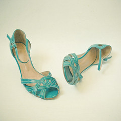 (_cassia_) Tags: blue stilllife holiday shoes sandals turquoise heels strappy ilovemyshoes seeyouwhenireturn
