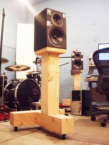 Diy Monitor Stands Trunk Stands Blueduststudio Chris Porro