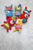 mini top hat bears messy (callie callie jump jump) Tags: smile burlington vermont handmade crochet yarn cheeks kawaii fiber amigurumi urbanfarmgirl erinnsimon