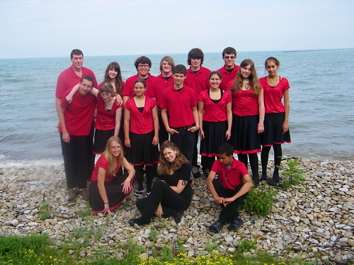 Fiddlers ReStrung Along Lake Huron at Goderich, Ontario