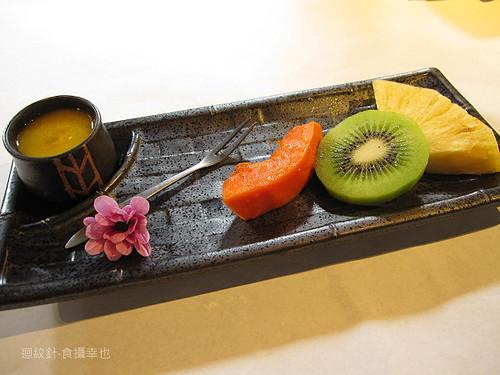 食養山房餐後水果與芒果飲