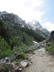Entering Cascade Canyon Photo
