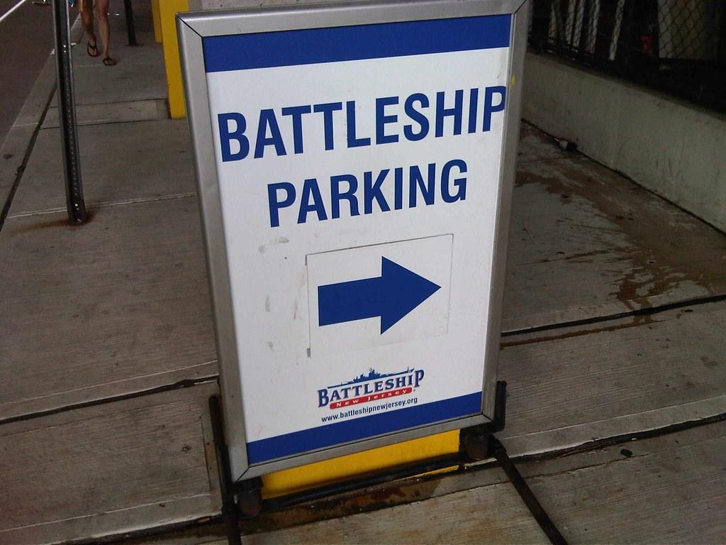 Battleship parking!