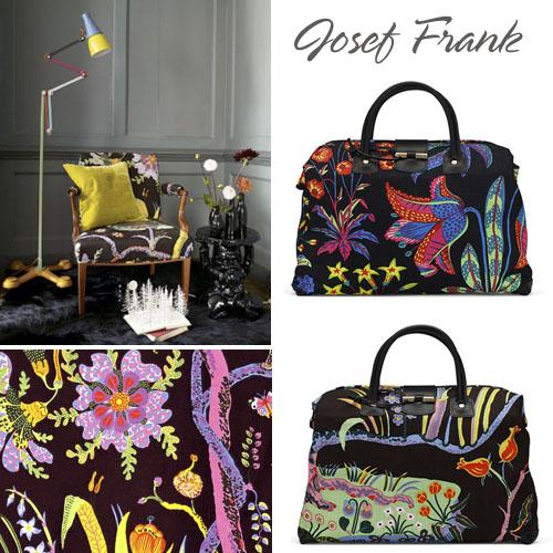 Josef Frank fabrics at Svenskt Tenn