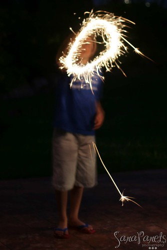 Jack with Sparklers